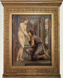Edward Coley Burne-Jones - Die Seele Attalos