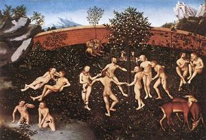 Lucas Cranach The Elder - der golden alter