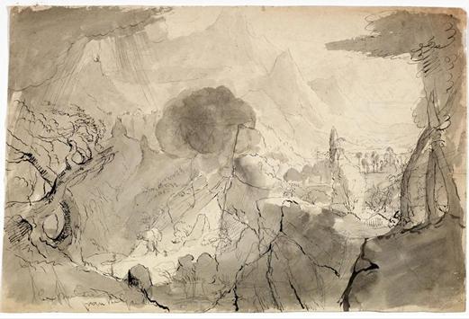 Vertreibung Aus Dem Garten Eden L Auf Leinwand Von Thomas Cole 1801 1848 United Kingdom