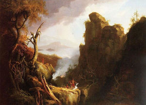 Thomas Cole - Indianer Opfer