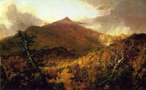 Thomas Cole - Schroon Berg, Adirondacks