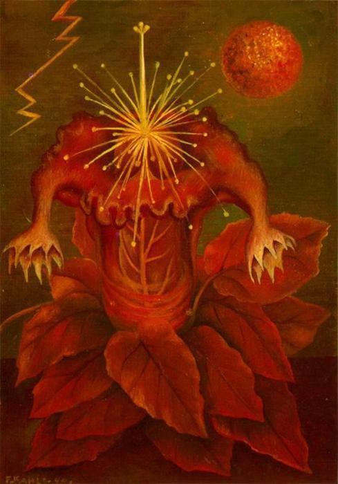 blume des lebens von frida kahlo 1907 1954 mexico kunst wiedergabe. Black Bedroom Furniture Sets. Home Design Ideas