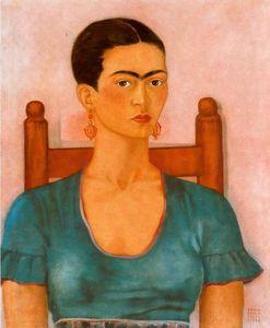 self portrait 2 von frida kahlo 1907 1954 mexico. Black Bedroom Furniture Sets. Home Design Ideas