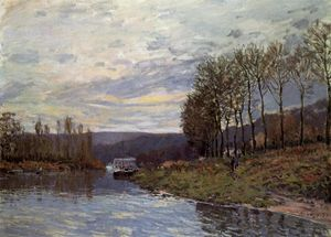 Alfred Sisley - Seine bei Bougival
