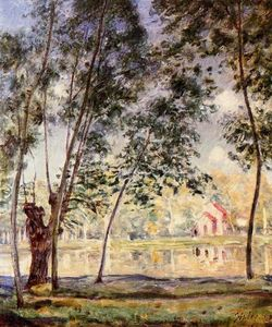 Alfred Sisley - Sunny Afternoon Weiden am Loing