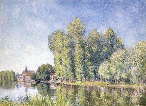 Alfred Sisley - Das Loing bei Moret 1
