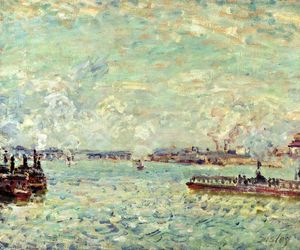 Alfred Sisley - die seine am point du jour