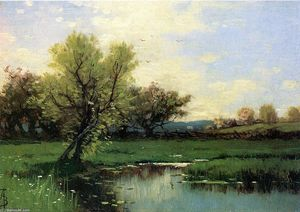 Alfred Thompson Bricher - Frühling
