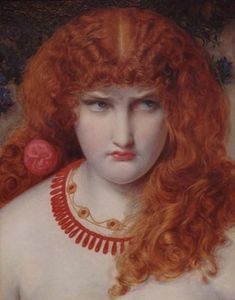 Anthony Frederick Augustus Sandys - Helen of Troy