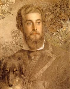 Anthony Frederick Augustus Sandys - Portrait Of Cyril Blume Lord Battersea