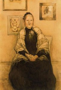 Carl Larsson - Meine Mutter