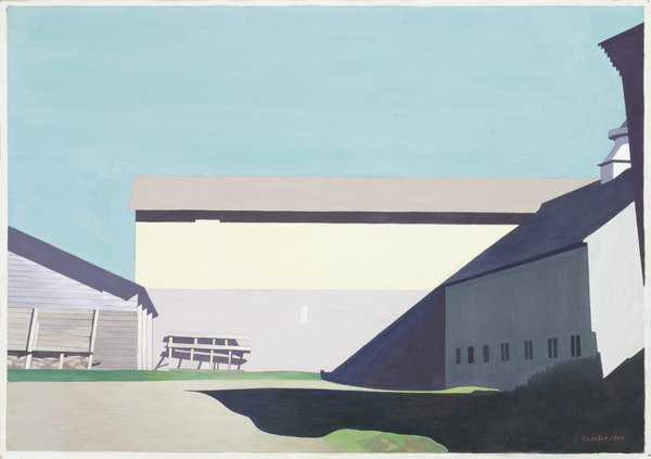 a history of precisionist art by charles sheeler in the united states