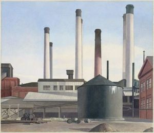 Charles Rettew Sheeler Junior - Fuge