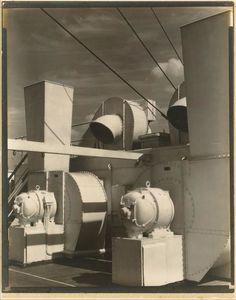 Charles Rettew Sheeler Junior - Oberdeck