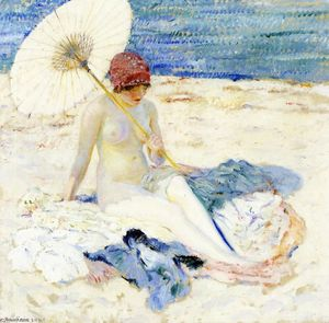 Frederick Carl Frieseke - am strand