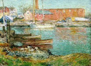 Frederick Childe Hassam - Die Red Mill, Cos Cob