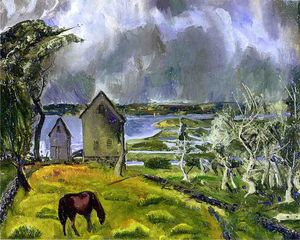 George Wesley Bellows - Tote Orchard