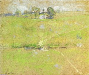 John Henry Twachtman - pfad in den hills , Branch , Connecticut