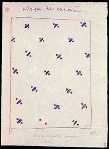 Kazimir Severinovich Malevich - Design for suprematistischen Fabric
