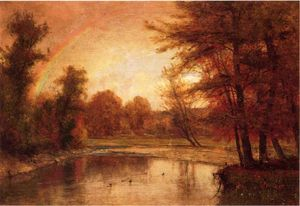 Thomas Worthington Whittredge - der regenbogen