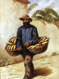 William Aiken Walker - Banana Peddler von Greenville, Mississippi