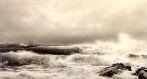 William Trost Richards - a sturm