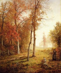 William Trost Richards - Sammeln Leaves