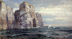 William Trost Richards - Die Vogel-Stacks