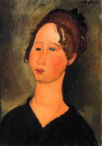 Amedeo Modigliani - Burgundische Woman