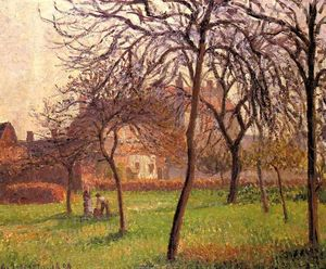 Camille Pissarro - Mutter Lucien s Field at Eragny