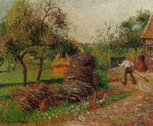 Camille Pissarro - Mutter Lucien Yard