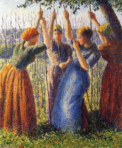 Camille Pissarro - Bäuerinnen Ting Stakes