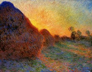 Claude Monet - Grainstacks