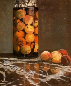 Claude Monet - Jar Of Peaches