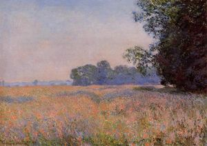 Claude Monet - hafer feld