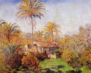 Claude Monet - kleine land bauernhof in bordighera