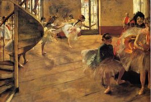 Edgar Degas - der probe 1