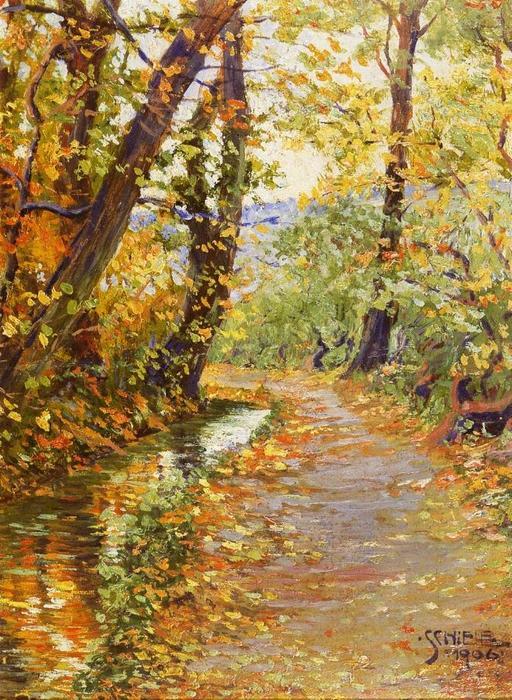 Egon-Schiele-Winding-Brook.JPG