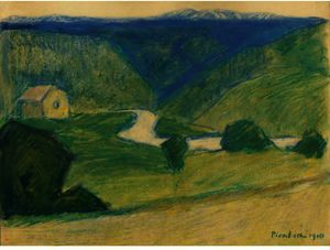 Francis Picabia - Landschaft 2