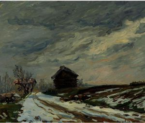 Francis Picabia - Paysage d hiver