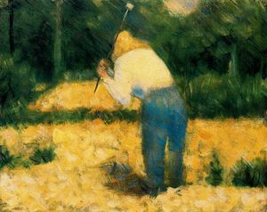 Georges Pierre Seurat - The Stone Breaker 1
