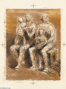 Henry Moore - familie gruppe