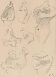 Henry Moore - Ideas for Sculpture 1