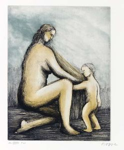 Henry Moore - mutter und kind 2