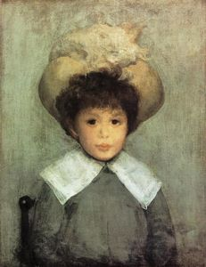 James Abbott Mcneill Whistler - arrangement in grau . portrait von meister stephen manuel