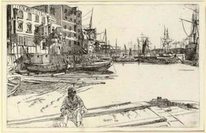 James Abbott Mcneill Whistler - Adler Wharf