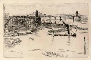 James Abbott Mcneill Whistler - alten hungerford brücke