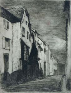 James Abbott Mcneill Whistler - Straße bei Saverne