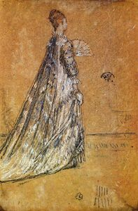 James Abbott Mcneill Whistler - der blau kleid