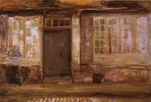 James Abbott Mcneill Whistler - Des Priesters Lodging, Dieppe